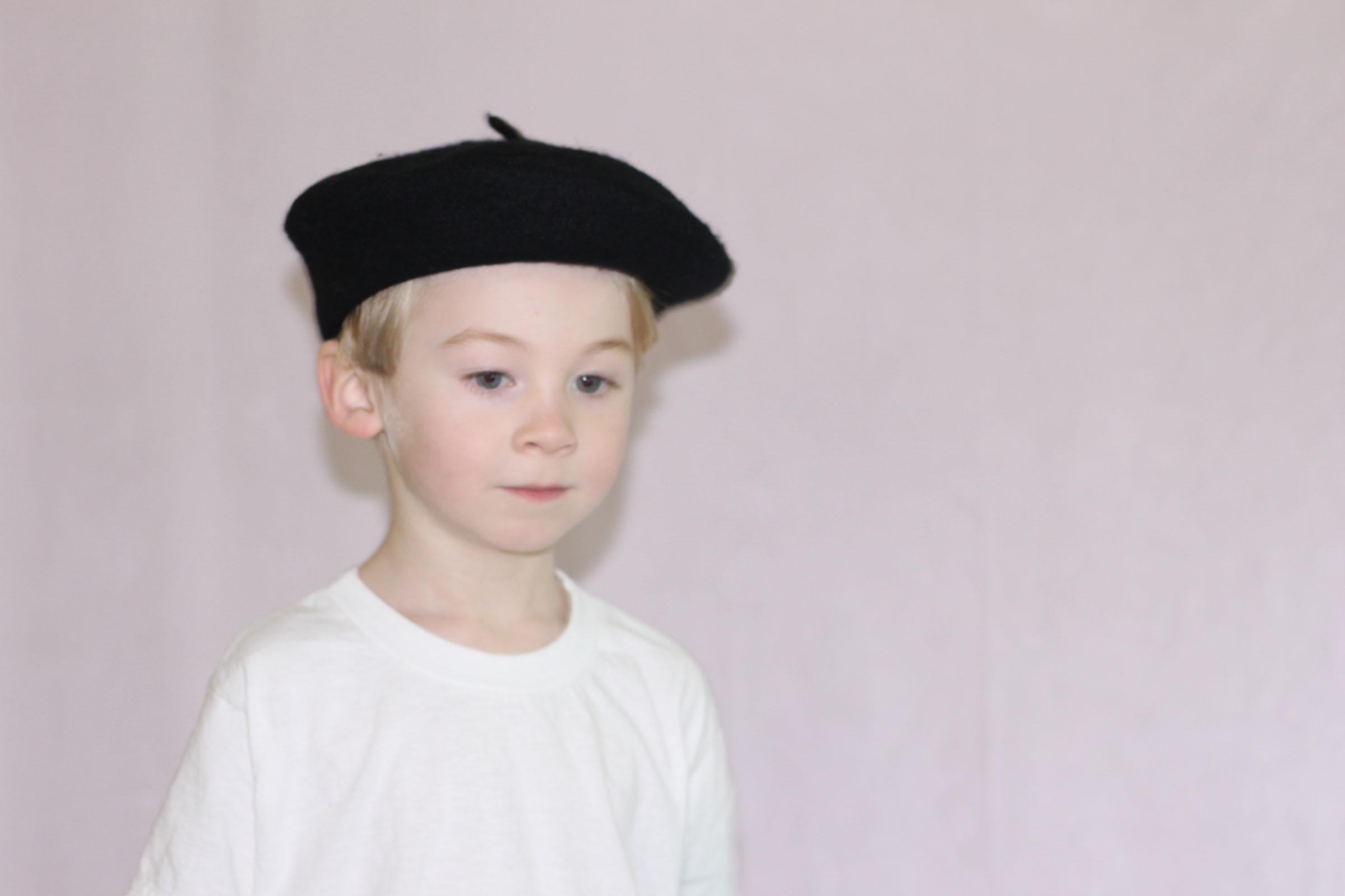 Kids Black Beret - PLAY kids clothes 4b1db912f2a