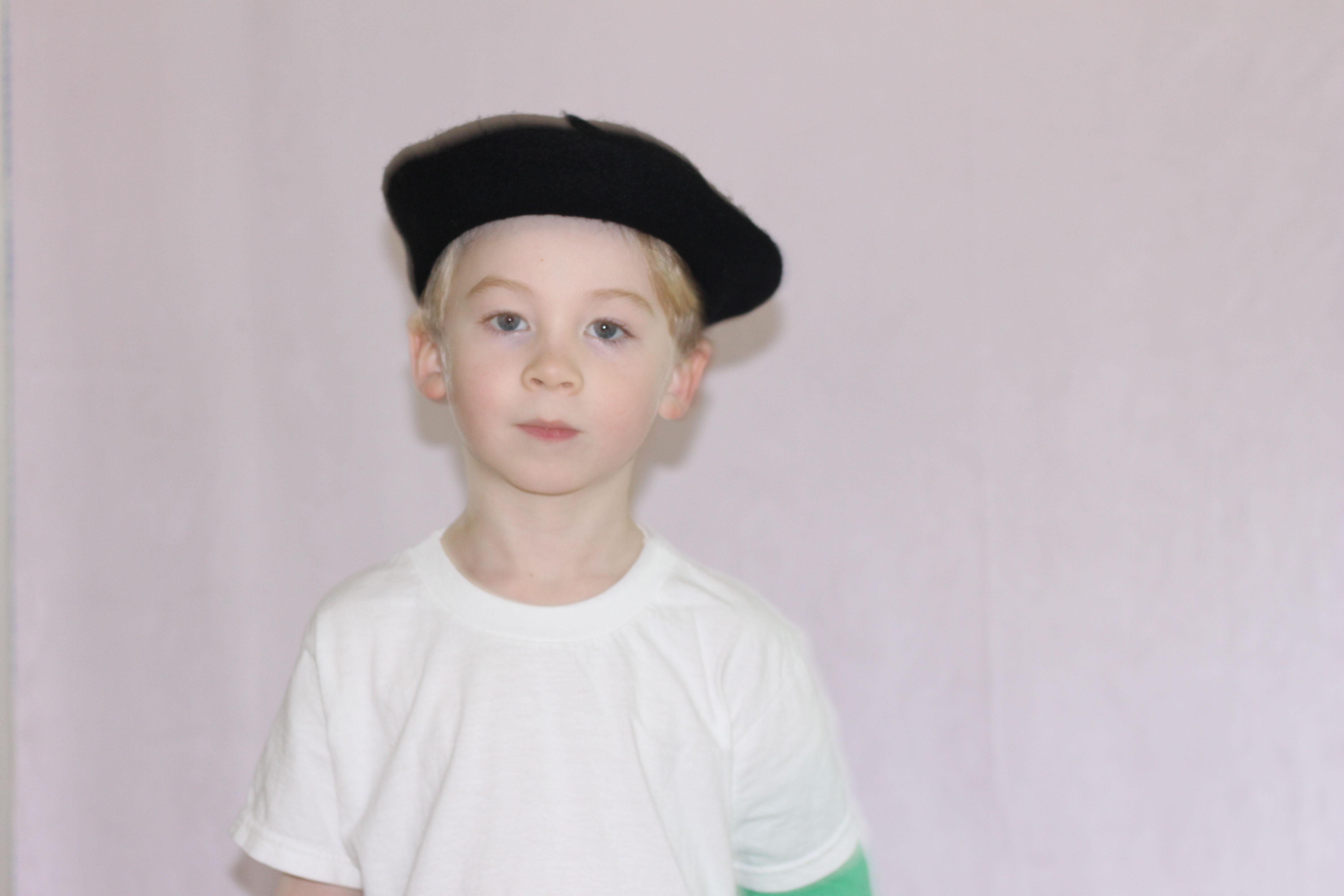 Kids Black Beret - PLAY kids clothes 525363f7727