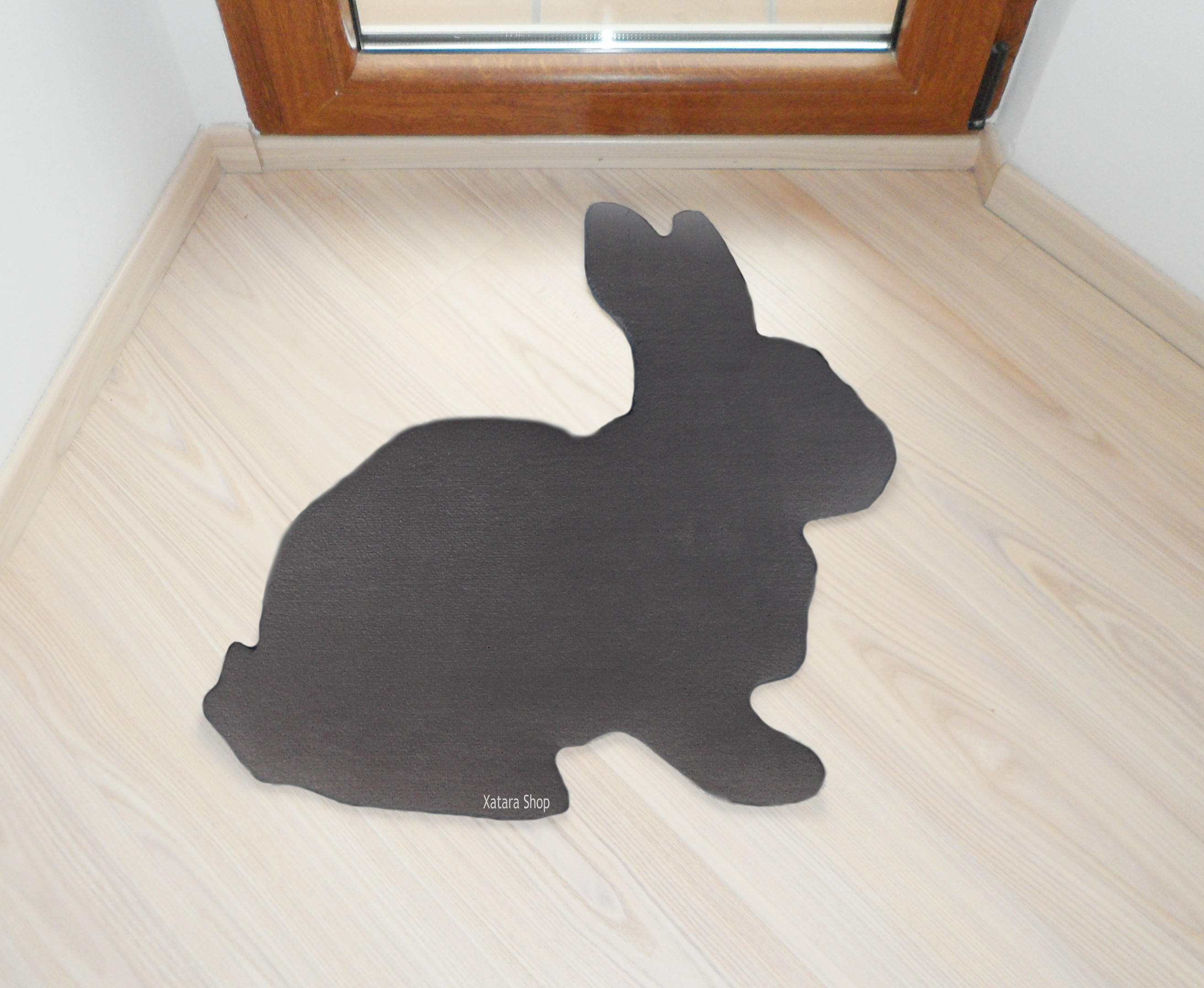 Easter Home Decor Bunny Rabbit Floor Mat Rug Playmat Room Pet Original And Decorative Custom Doormat