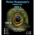 Peter Piker's (Pázmány Péter) fluorocarbon leader 0,52 mm - harapásálló előkék