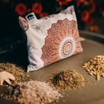 MANDALA - Pernă umplute cu 100% plante medicinale