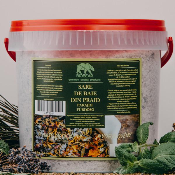 Gyógynövényes parajdi fürdősó 5 kg - EXTRA STRONG