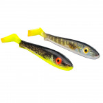 Svartzonker McRubber Real Series 17 cm - The hot once Pale Pike hot tail & Hot Eelpout