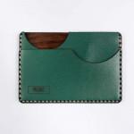 Portofel SLIM WoodLeather Green