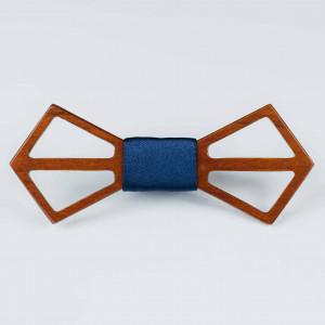 Papion din lemn Persille Navy Blue