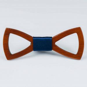 Papion din lemn Tagliato Navy Blue