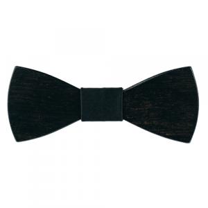 Papion din lemn Cordial Black