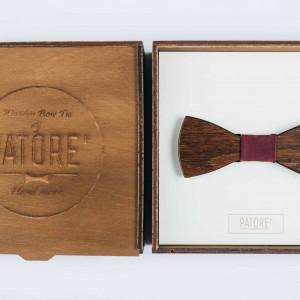 Papion din lemn Cordial Bordeaux