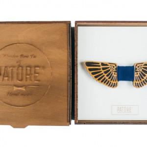 Papion din lemn Wings