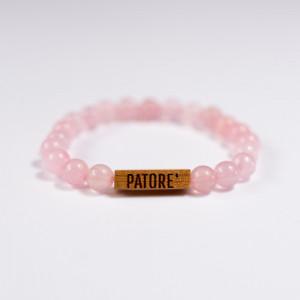 Bratara Selected Pink Quartz