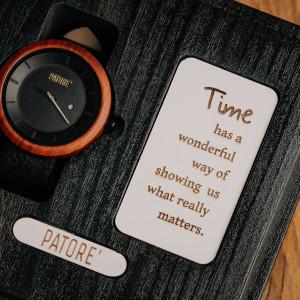 Ceas din lemn Rush