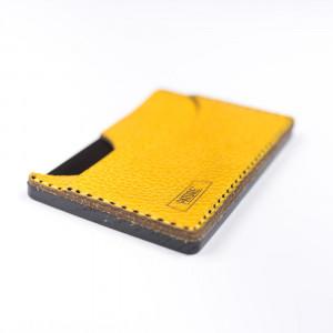 Portofel SLIM WoodLeather Yellow
