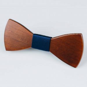 Papion din lemn Cordial Navy Blue
