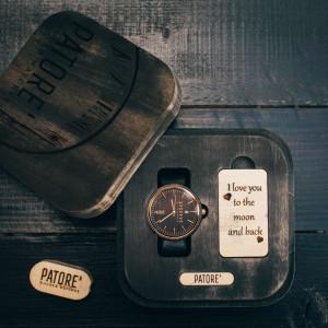 Ceas din lemn Dainty