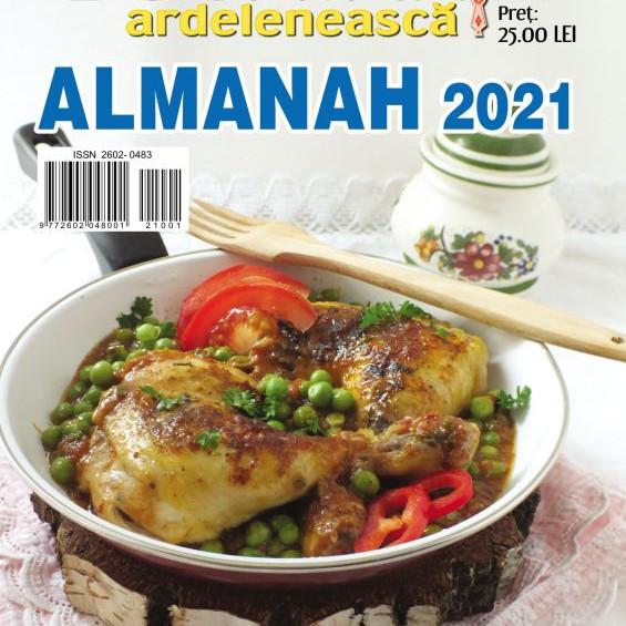 Almanah 2021 - Bucătăria ardelenească