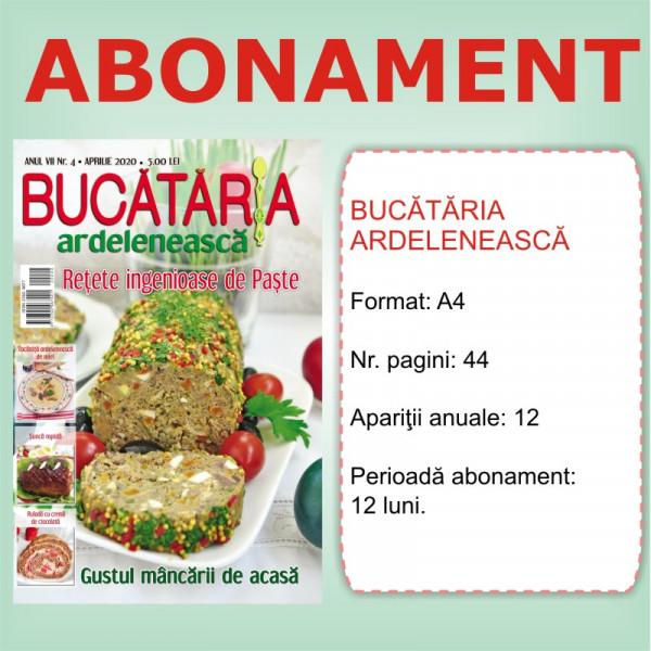 Abonament Bucataria Ardeleneasca 12 luni