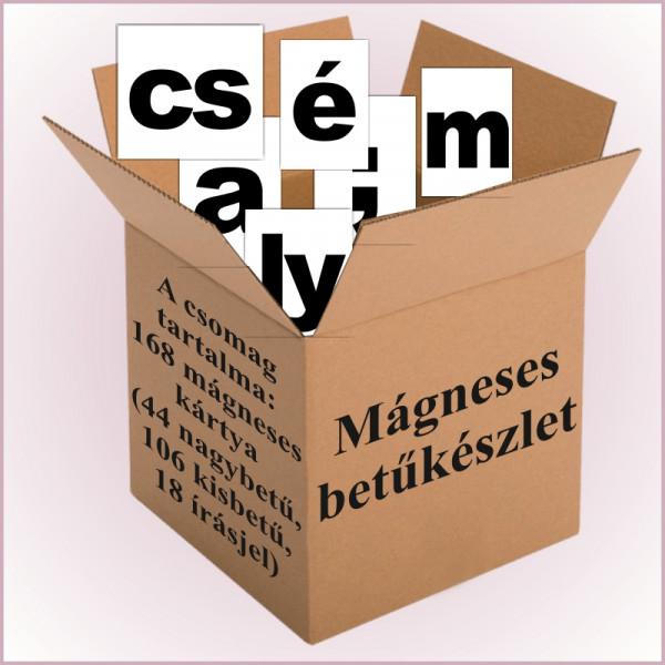 Mágneses betűkészlet
