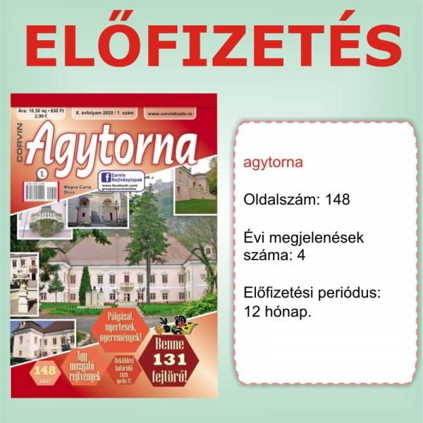 Előfizetés - Agytorna - 12 hónap - Romániába