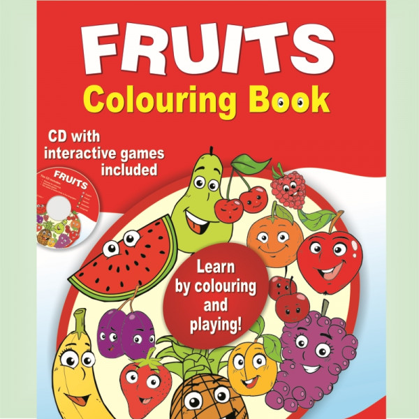 Fruits – Colouring Book