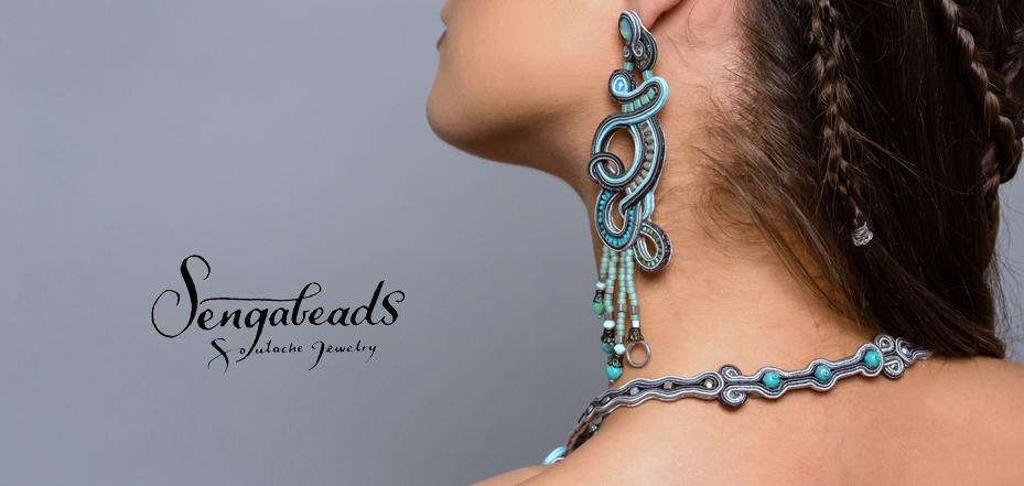Sengabeads - Soutache jewelry