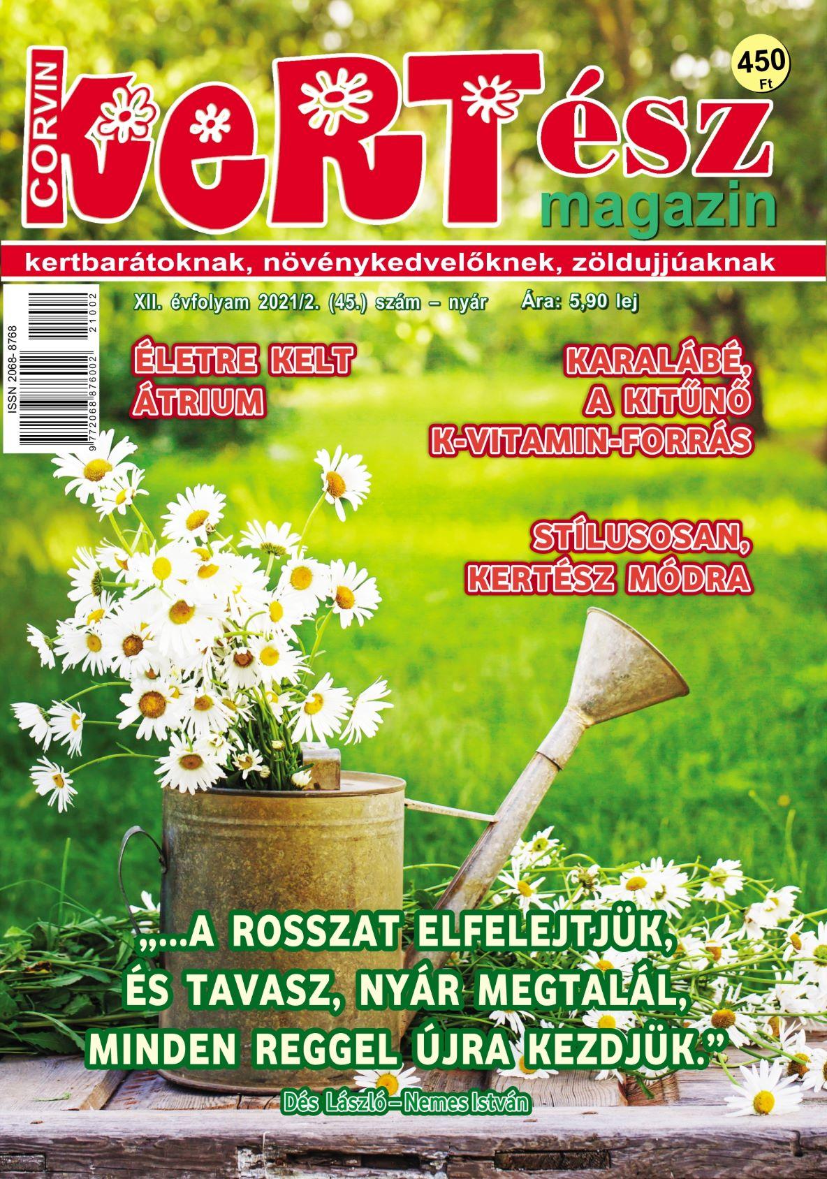 Corvin KERTész magazin 2021/2 - nyár