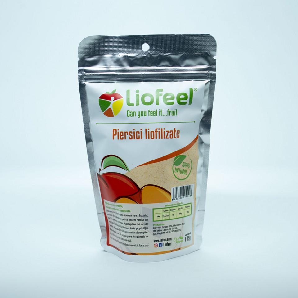 Liofilizált barack, Liofeel, 15 gr
