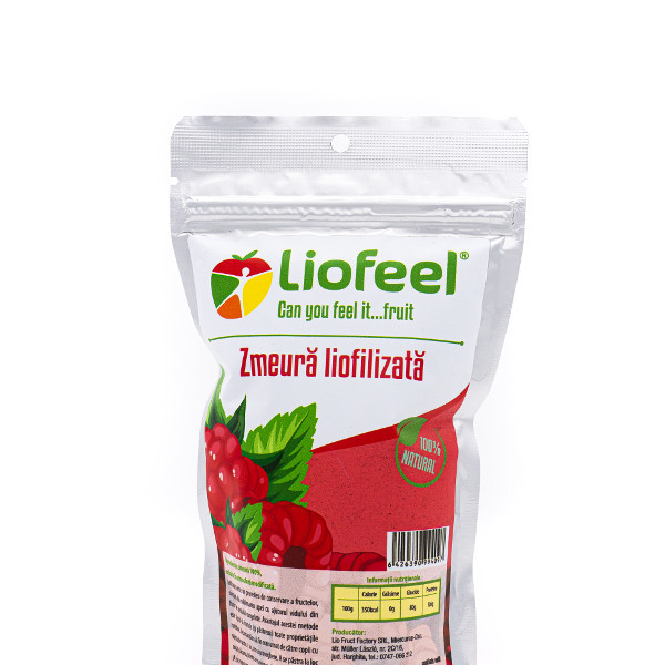 Freeze-dried Raspberry, Liofeel, 15 gr