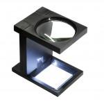Lupa de masa cu LED 2.5x90 mm