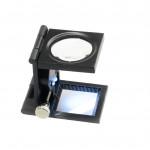 Lupa de masa cu LED 8x30 mm
