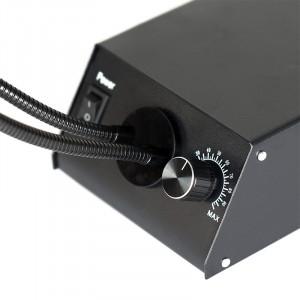Iluminator dual de mare intensitate cu lumina rece cu LED