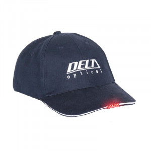 Sapca Delta cu led rosu