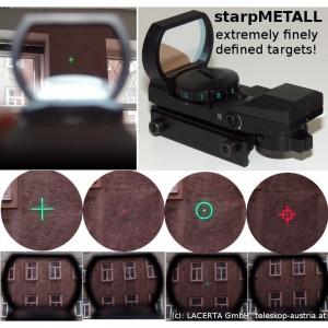 Cautator StarPointer din metal