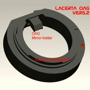 Adaptor pentru ghidaj off-axis LACERTA