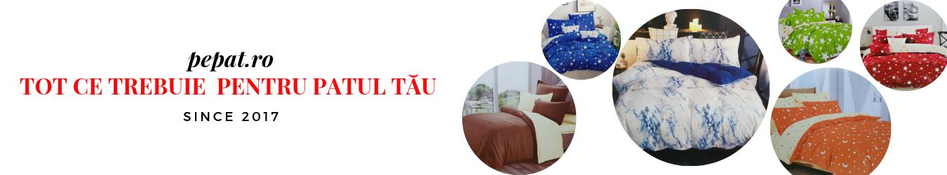 Pepat.ro - Magazin online cu lenjerii de pat