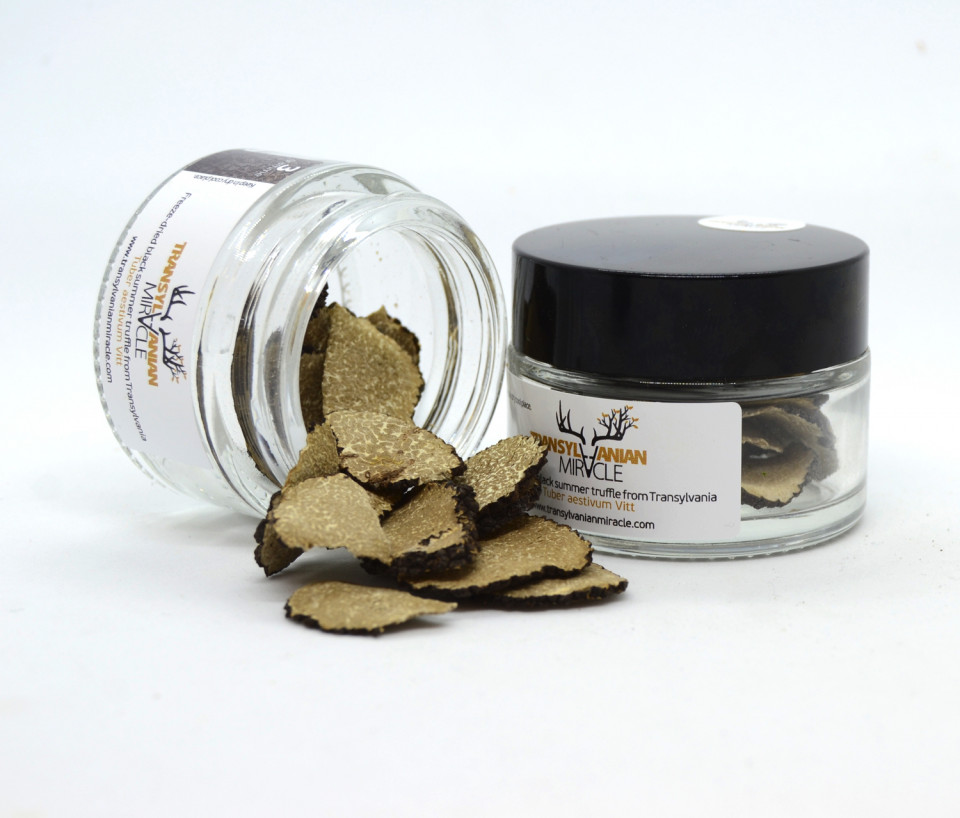 Freeze-dried black summer Truffle from Transylvania, Transylvanian Miracle, 3 gramme