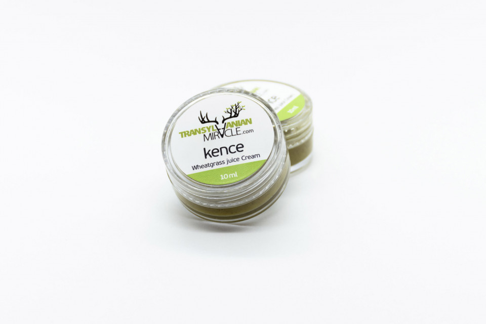 Kence, Wheatgrass juice cream, 10 ml